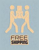 Shipping design — Stockvector