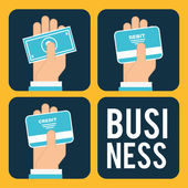 Business design — Stockvektor