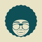 Conception de style afro — Vecteur