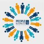 People — Stock Vector