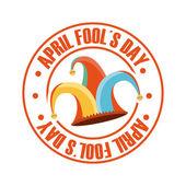 April fools day — Stock Vector