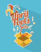 Dia de tolos de abril — Vetorial Stock