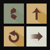 Arrows design — Stock Vector