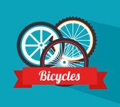 Projeto ciclismo — Vetor de Stock