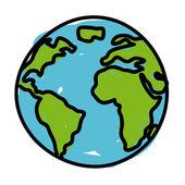 Earth design — Stock Vector
