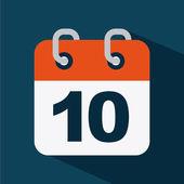 Calendar — Stock Vector
