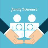 Versicherung design — Stockvektor