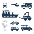 Stock Vector: Vehicles