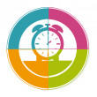 Time watch — Stock Vector #42164927