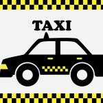 Постер, плакат: Taxi cab