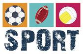 Sport — Vetor de Stock