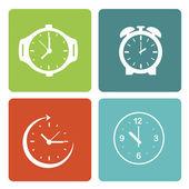 Sefer saatleri — Stok Vektör