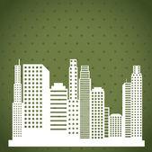 Urban city design — Wektor stockowy
