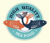 Morze żywności wysokiej jakości — Wektor stockowy