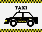 Taxi cab — Stock Vector