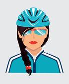 Biker design    — Stock Vector