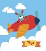 Baby toys — Vector de stock