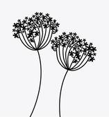 Flowers design — Stock Vector