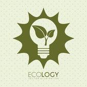 Ecology — Wektor stockowy