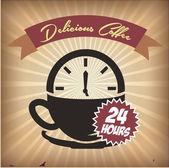 Coffee design — Stockvektor