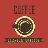 Kaffe design — Stockvektor