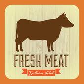 Meat Design — Stock Vector