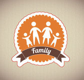 Familie design — Stockvektor