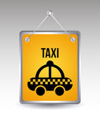 Taxi icon — Stock Vector