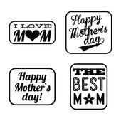 Muttertag — Stockvektor