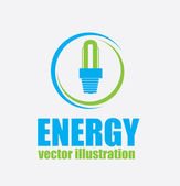 Bulb energy — Stock Vector