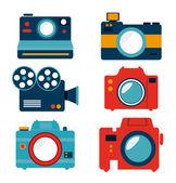 Photography design — Stock Vector