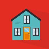 Недвижимость — Cтоковый вектор