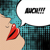 Pop art design — Stock Vector
