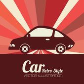 Car design — Stock Vector