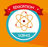 School science — Stock Vector