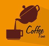 Cofee time — Stock Vector