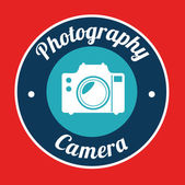Fotografering design — Stockvektor