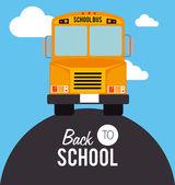 De volta à escola — Vetorial Stock