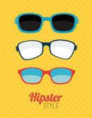 Hipster design — Stockvektor