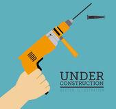 Strumenti di costruzione — Vettoriale Stock