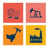 Projeto de indústria — Vetorial Stock