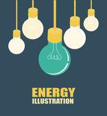 Energi design — Stockvektor