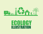Eco design — Stock Vector