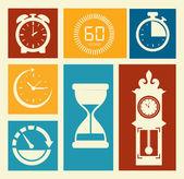 Diseño de tiempo — Vector de stock