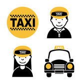 Taxi design — Stock Vector
