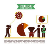 Projekt ludzi — Wektor stockowy