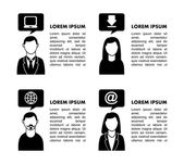 People networking design — Vector de stock