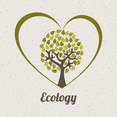 Ecology design — Stock Vector
