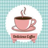 Coffee design — Stock Vector