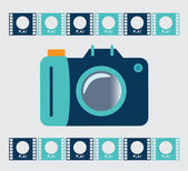Photography design — Stock Vector